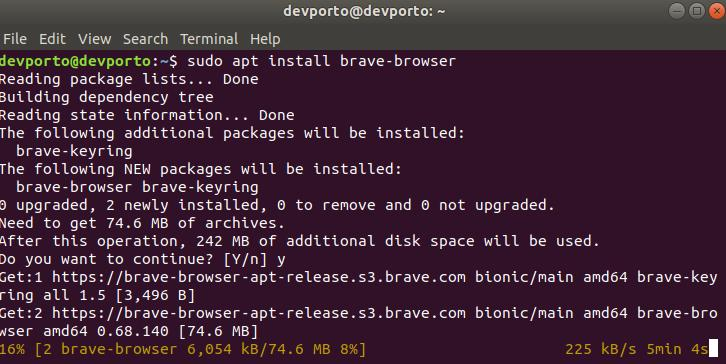 install-brave-browser-on-ubuntu-1804-part4