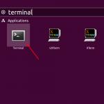 Accessing Ubuntu Terminal