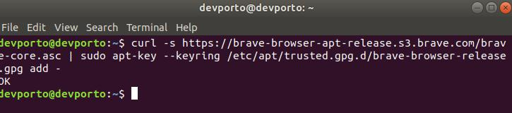 install-brave-browser-on-ubuntu-1804-part1